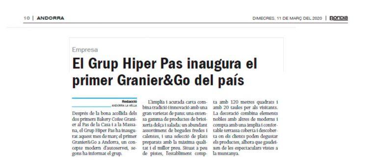 Granier & Go a BonDia