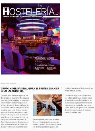 Granier & Go a Revista Hostelería
