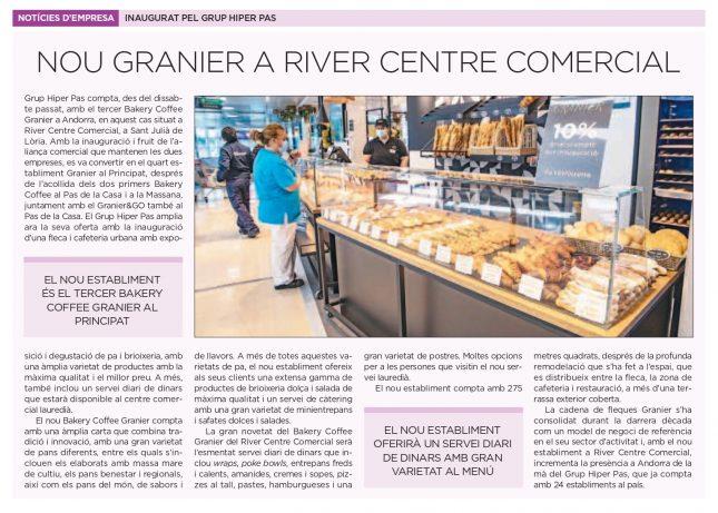 Granier River Centre Comercial al Diari d'Andorra