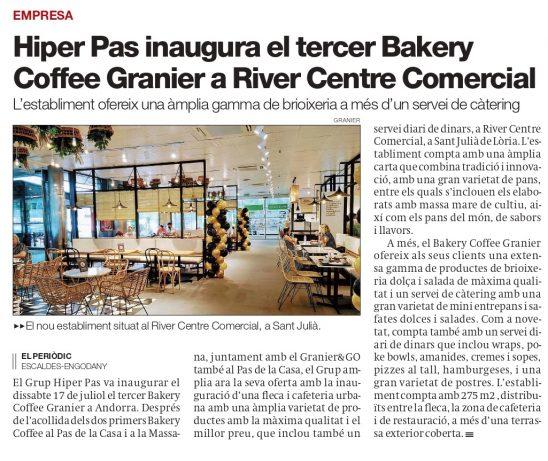 River Centre Comercial en Periòdic d'Andorra